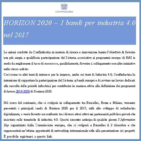Front Horizon 2020