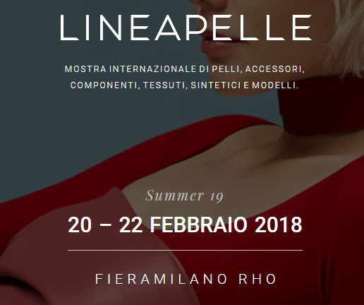 LINEAPELLE 20-22 febbraio 2018 a Milano