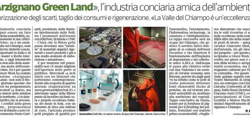 Corriere del Veneto: la Stazione Sperimentale al Greek Week. Intervista al Presidente Paolo Gurisatti