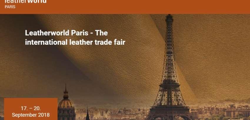 """A Parigi """"LeatherWorld"""", la Fiera Internazionale per l'Industria della pelle"""