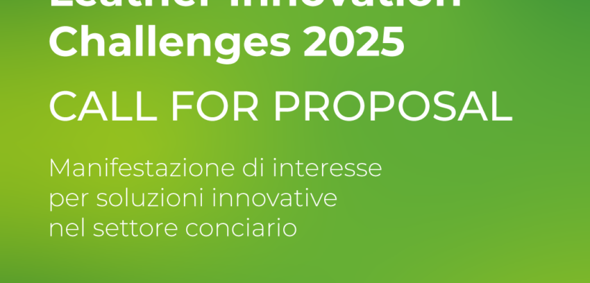 Leather Innovation Challenges 2025 – al via la Call For Proposal della SSIP