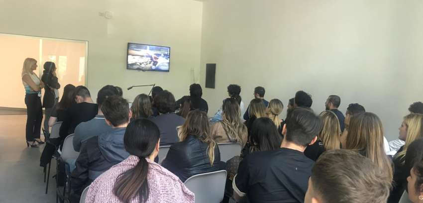 Studenti di Green Economy in visita alla Stazione Sperimentale